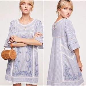Free People Sunny Days Embroidered Dress